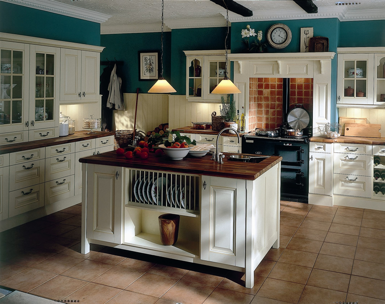 Traditional Kitchen Entrancing With Traditional Kitchen Cabinets Image